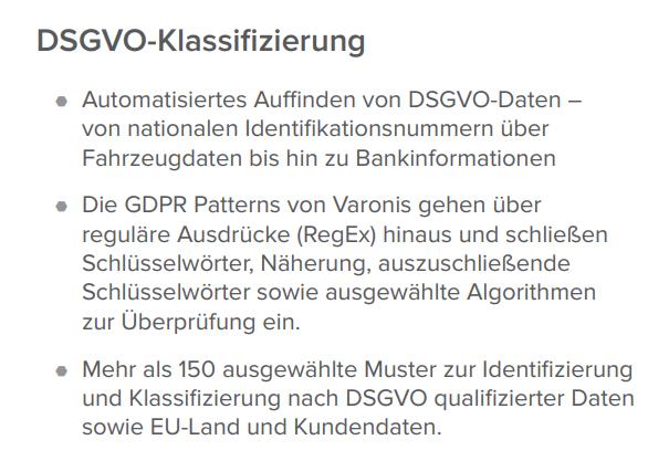 DSGVO Klassifizierung